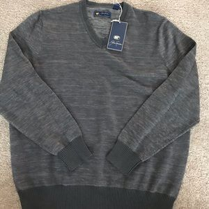 NWT Jack Nicklaus v-neck sweater